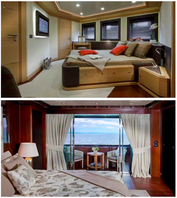 J'Ade yacht by CRN - Accommodation
