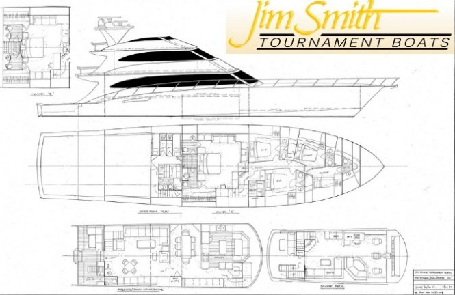 Jim Smith 105' Yacht Hull No. 29 to feature Seakeeper M26000 gyro