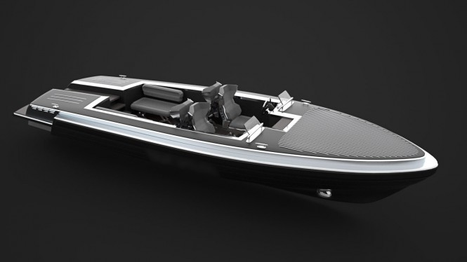 Latest Pinstripe yacht tender concept by Gray Design
