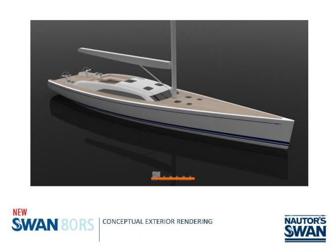 Latest superyacht Swan 80RS by Nautors Swan