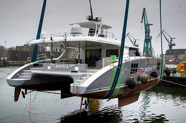 Launch of Sunreef 70 Yacht MAVERICK