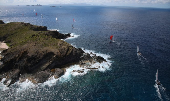 Les Voiles de Saint Barth 2013 Race Day 4 © Les Voiles de Saint Barth / Tim Wright