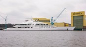 Lurssen launch yacht AZZAM - Photo Lurssen