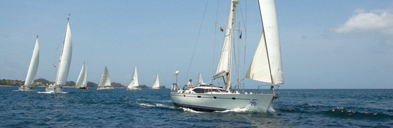 Luxury Oyster yachts to compete in the Oyster Regatta Grenada 2013