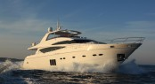 Luxury charter yacht PRINCESS LILY built by Princess Yachts