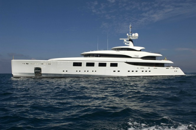 Luxury motor yacht Nataly launched by Benetti in 2011