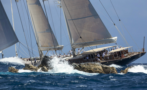 Luxury sailing yacht Athos - Photo credit to Superyacht Media
