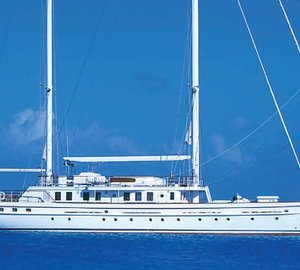 Diana Yacht Design working on refit of 39m motor sailor yacht DIONE STAR
