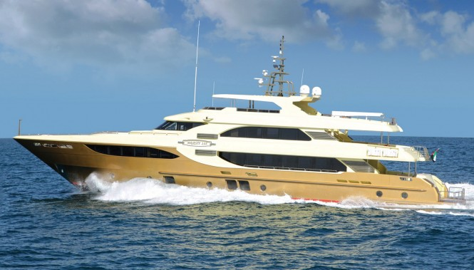 Luxury yacht Majesty 135 by Gulf Craft