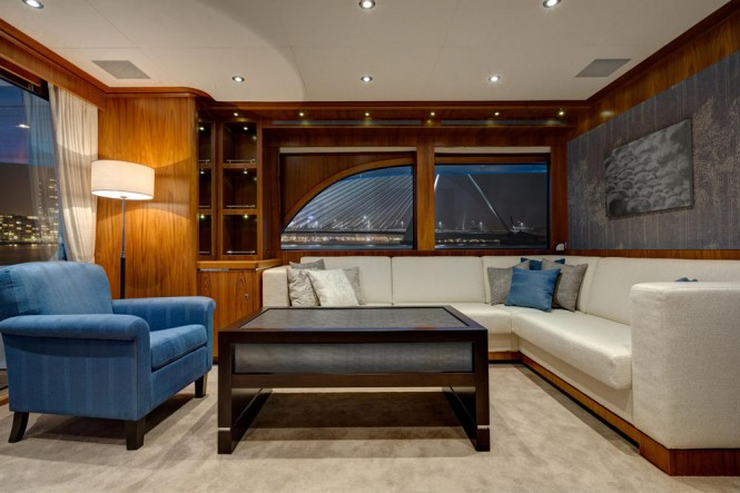 Luxury yacht Mulder 73 Flybridge - Salon