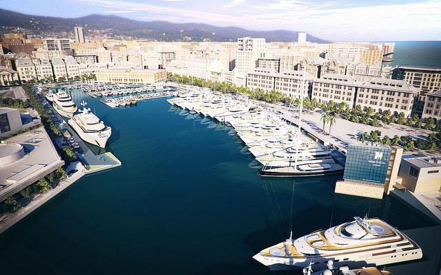 Marina Port Vell in the beautiful Spanish yacht charter location - Barcelona