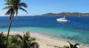 Masteka 2 superyacht in Fiji
