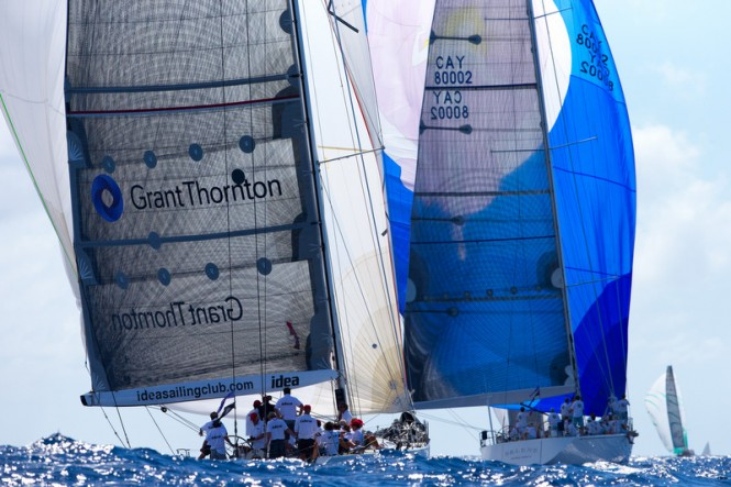 Maxi Racing Class Selene racing at Les Voiles de Saint Barth© Les Voiles de Saint Barth / Christophe Jouany