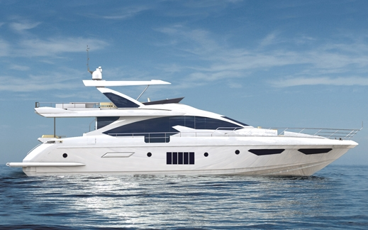 Motor yacht Azimut 80