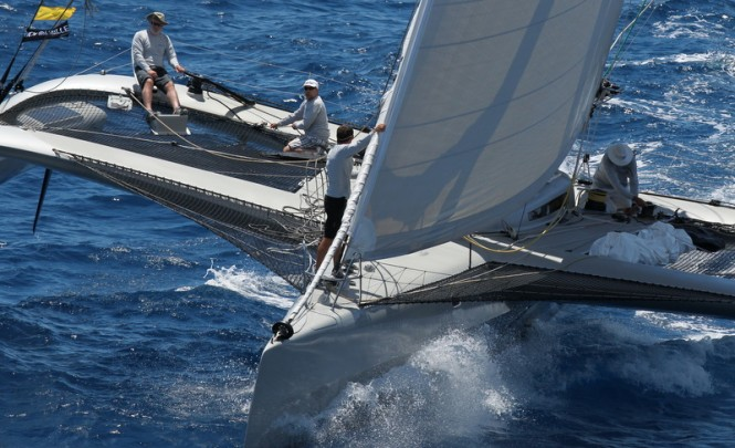 Multihull Class winner - PARADOX© Les Voiles de Saint Barth / Tim Wright