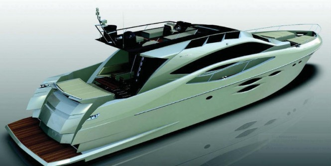 New Numarine 78' HTS Yacht Project