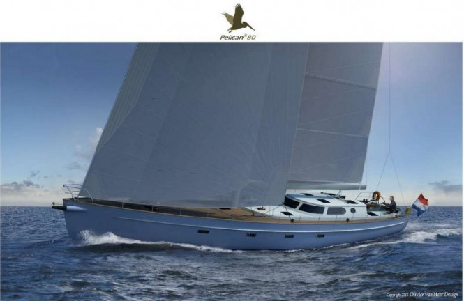 New Pelican 80 Yacht Concept by Olivier van Meer and Sea Independent Custom