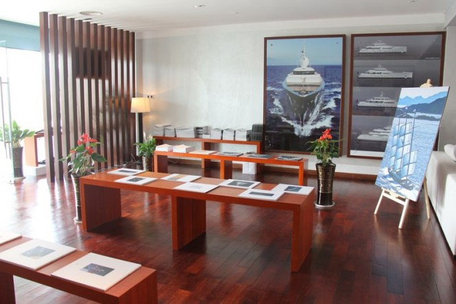 New Perini Navi sales office in China