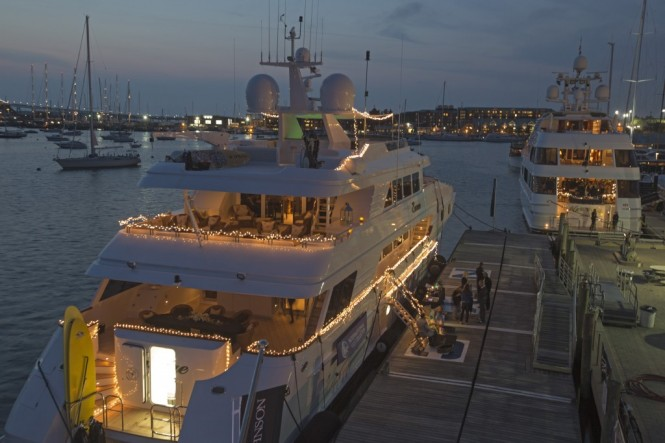 Newport Charter Yacht Show 2012 - Photo credit Billy Black