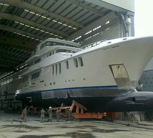 Nordhavn 120 motor yacht AURORA launched into test tank