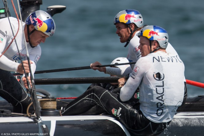 America's Cup World Series Naples 2013 - Official Training Day