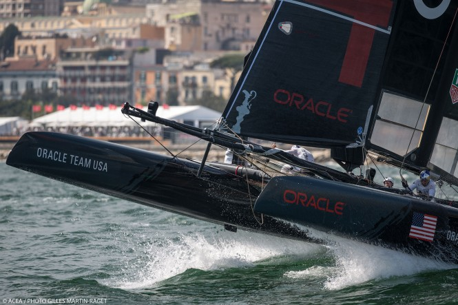 America's Cup World Series Naples 2013 - Race Day 3 - ORACLE TEAM USA