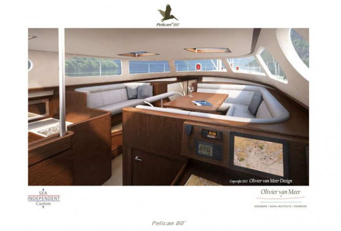 Pelican 80 Yacht Concept - Interior