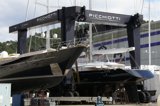 Perini Navi Group Shipyard