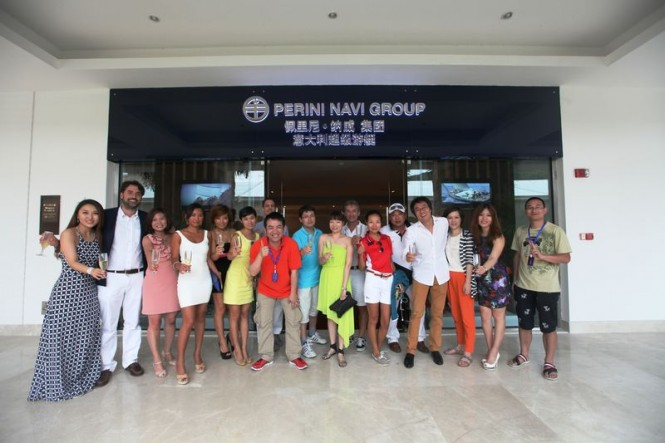 Perini Navi Group sales office in China