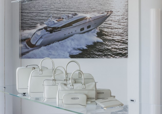 Pershing to present new set of accessories for superyachts signed by Poltrona Frau - Photo by Alberto Cocchi