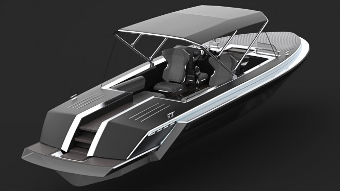 Pinstripe Yacht Tender