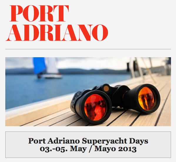 Port Adriano Superyacht Days