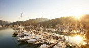 Porto Montenegro Marina situated in the beautiful Mediterranean yacht charter destination - Montenegro
