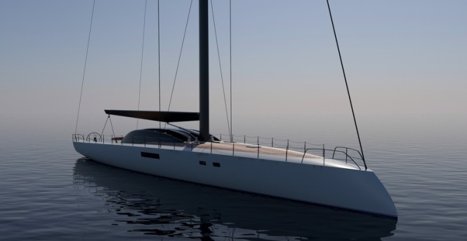 Project Immersion Yacht Concept - front view