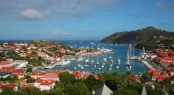 Race Fleet dockside in Gustavia Harbour  © Tim Wright / Les Voiles de St Barth