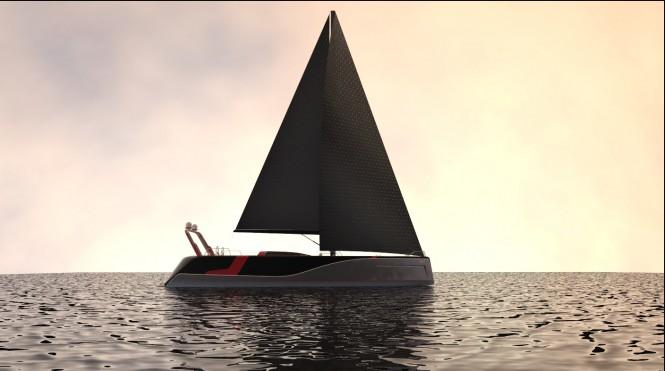 Ramazan KAYA designed luxury yacht Poseidon design