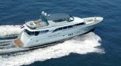 Rendering of Mulder 98 Flybridge Yacht YN1391