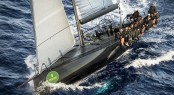Sailing yacht Jethou - Overall Winner of the 2012 Rolex Volcano Race - Photo by Rolex Kurt Arrigo