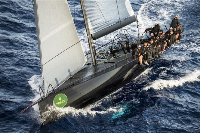 Sailing yacht Jethou - Overall Winner of the 2012 Rolex Volcano Race - Photo by Rolex Kurt Arrigo