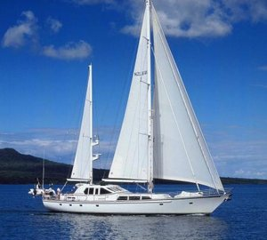 Alloy Yachts' 32m superyacht PACIFIC EAGLE available for charter in Fiji