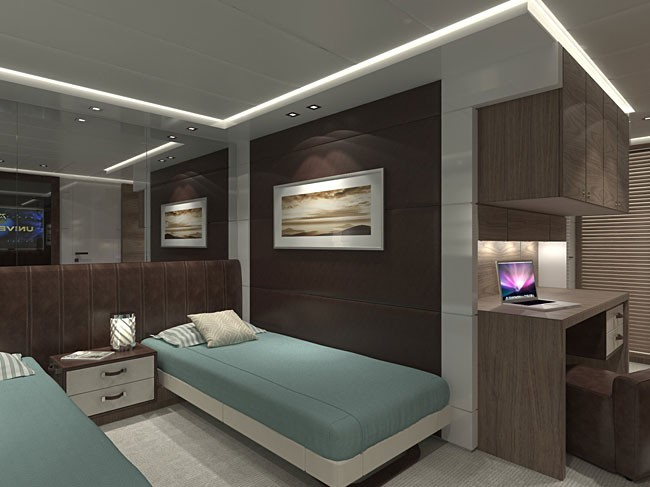 Second Canados 120 Yacht - Twin Guest Cabin
