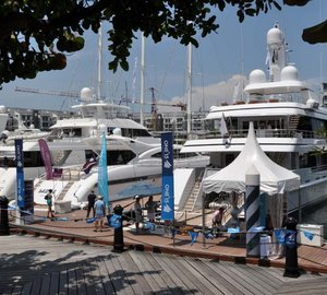 Singapore Yacht Show 2013 to open tomorrow
