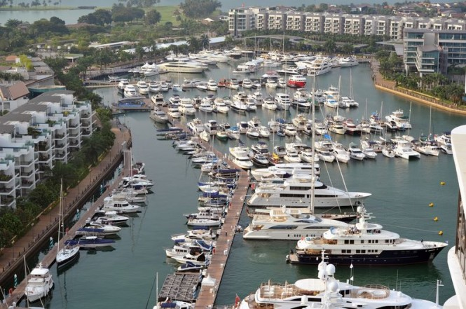 Singapore Yacht Show 2013