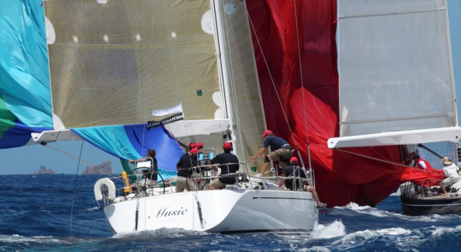 Spinnaker 1 Class Winner - MUSIC © Les Voiles de Saint Barth / Tim Wright