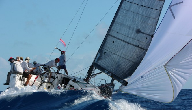 Spinnaker 2 Class Winner - LAZY DOG © Les Voiles de Saint Barth / Tim Wright