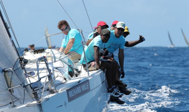 Spinnaker 3 Class winner - CREDIT MUTUEL MARTINIQUE PREMIERE© Les Voiles de Saint Barth / Tim Wright