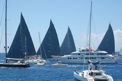 St Barths Bucket Regatta 2013 - Photo by Pila Pexton