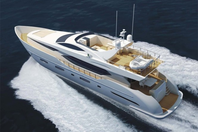 Superyacht Electra with design and naval architecture by YD&AS