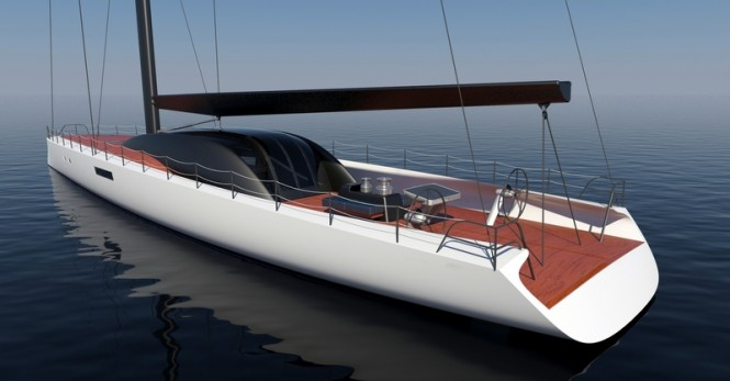 Superyacht Project Immersion concept - aft view