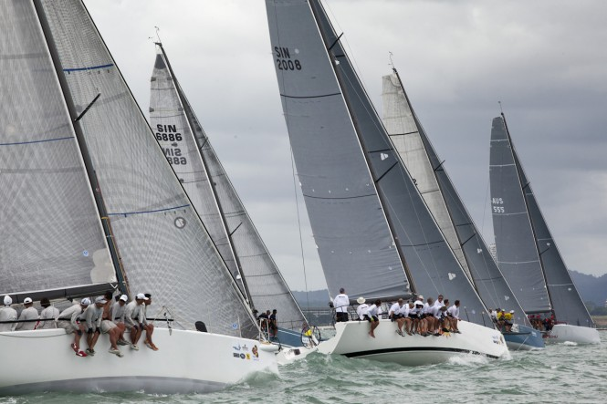 TOG delivers world-class sailing - Photo by Guy Nowell